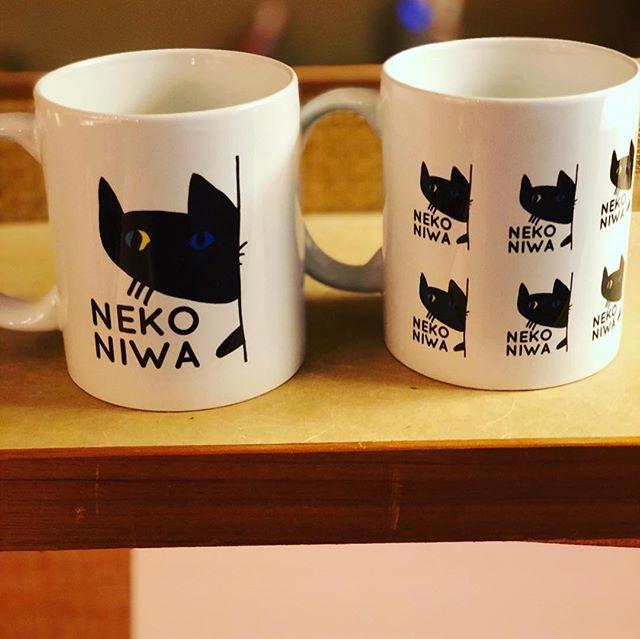 新 猫庭マグカップ